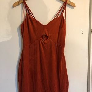 Dresses & Skirts - Burnt-orange dress
